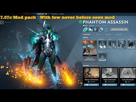 Dota 2 All Hero Mod pack 7 07c updated with new Map Frostivus
