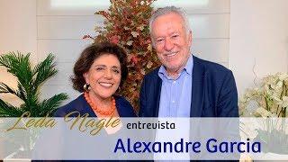 ALEXANDRE GARCIA : DA GLOBO PARA AS REDES SOCIAIS| LEDA NAGLE