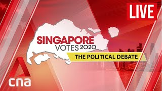 [LIVE HD] Singapore Votes 2020: The political debate
