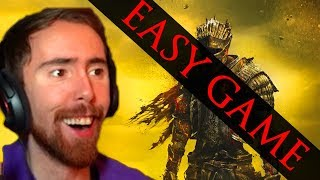 Asmongold BEATS Dark Souls 3 Making A Joke Of The Last Boss