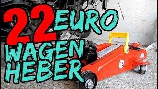 22 EURO WAGENHEBER / ZU GEBRAUCHEN ODER SCHROTT ?