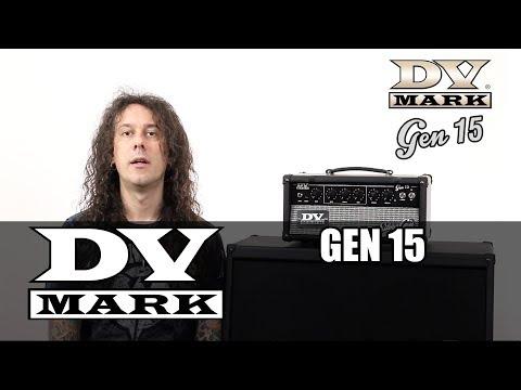 DV MARK GEN 15 Head Kytarový lampový zesilovač