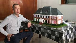 Scale model Home alone house