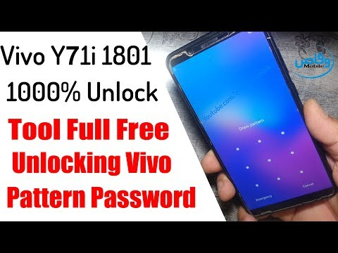 VIVO 1801 Y71i PATTERN AND FRP UNLOCK - Tephas Mobile Tips - Video