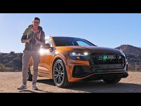 Фото к видео: ВОТ ТАКОГО НЕ ОЖИДАЛ! НОВЕЙШИЙ АУДИ КУ8. Первый тест-драйв и обзор Audi Q8