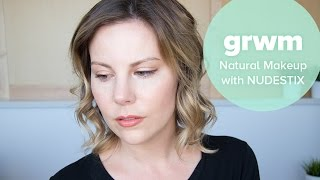 Get Ready With Me: Natural Makeup with NUDESTIX