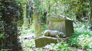preview picture of video 'England - Highgate Cemetery in London'