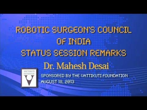 RSC Status Session Remarks -Dr Mahesh Desai
