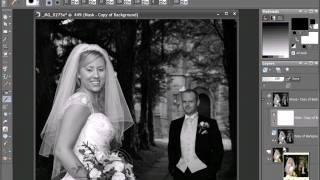 Améliorer des photos de mariage (PSPPX2)