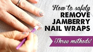 How To Remove Jamberry Nail Wraps | A Thousand Words