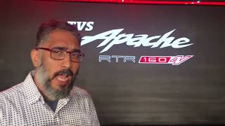 TVS Apache RTR 160 4V Launched | First Look