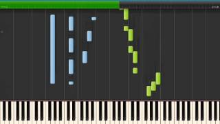 """BELLA'S LULLABY (Twilight theme) - Carter Burwell [piano tutorial by """"genper2009""""]"""