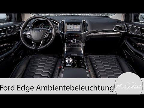 Ambiente-Licht im Ford Edge (2019) [4K] - Autophorie