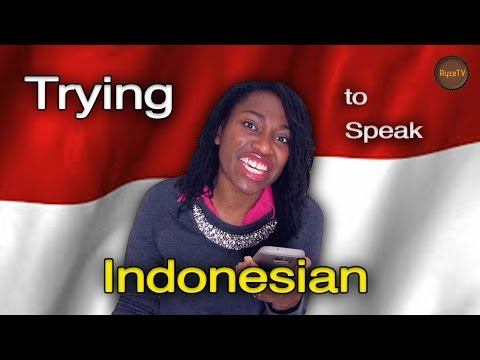 Trying To Learn A Different Language: Indonesian #1