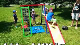 Спортивный комплекс DISNEY 1,5м. от компании LIDER-LUX - видео