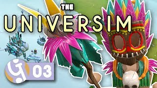 🌌 Hey Witchdoctor, Give Us The Magic Words!   Let's Play The Universim Ep. 03