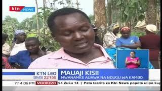 Mwanamke auawa na ndugu wa kambo Kisii