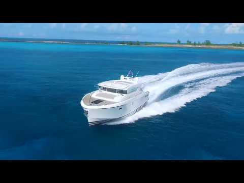 Delta Powerboats 54 Carbon video