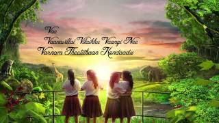 Vizhiyal Pesum Lyric Video-Enna Satham Indha Neram