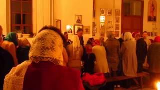 Великая Пасха в Ютановке 2017 с фонариками