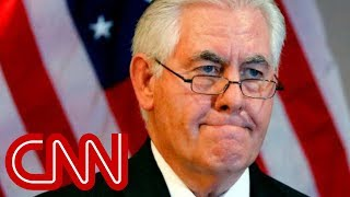 Tillerson speaks out after being fired