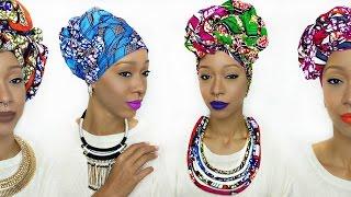 Head Wrap Tutorial | 5 Different Ankara Styles