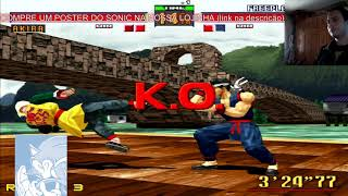 Virtua Fighters 2 PS3 gameplay