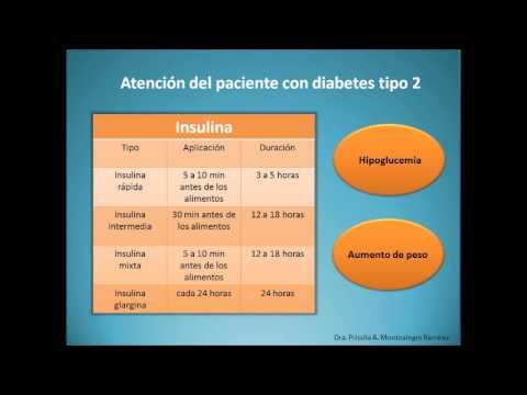 Hornada en la diabetes mellitus tipo 2
