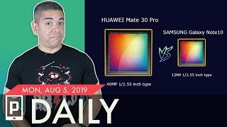 Huawei Mate 30 Pro vs Galaxy Note 10+ Camera: Woah