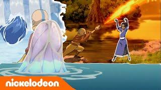 Avatar: The Last Airbender | Mempelajari Elemen-elemen | Nickelodeon Bahasa