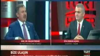 """TGRT HABER """"TÜRKİYEDEN DÜNYADAN PROGRAMI"""" (2 EKİM 2015)"""