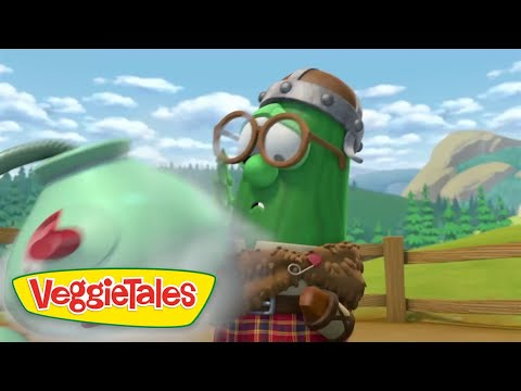 VeggieTales: MacLarry and the Stinky Cheese Battle DVD movie- trailer