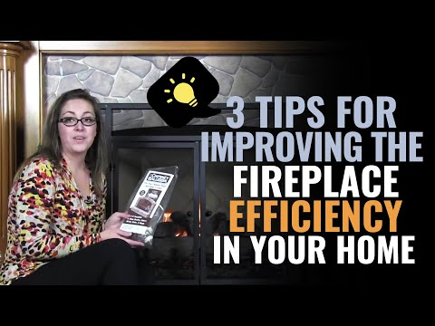 3 Tips for Improving the Fireplace Efficiency in your Home