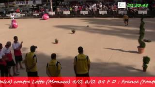 preview picture of video 'Les finales (début) du 94ème Grand Prix Bouliste, Sport Boules, Gap 2014'