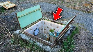 Top 5 People WHO FOUND SECRET UNDERGROUND BUNKERS!
