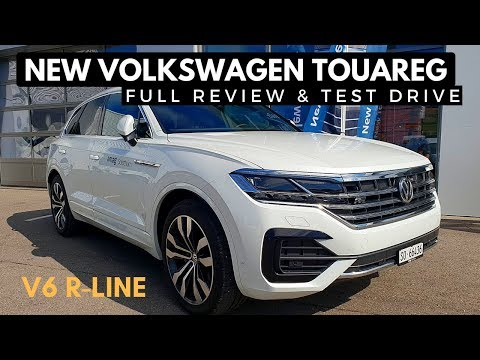 New VW Touareg TDI R Line Test Drive Full Review 2019