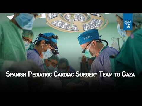 Spanish Pediatric Cardiac Surgery Team Arrives In Gaza
