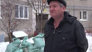 Сосед устроил свалку строительного мусора под окнами