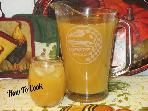 Video HOW TO MAKE JAMAICAN GINGER JUICE RECIPE 2016
