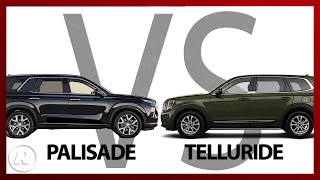 Kia Telluride vs. Hyundai Palisade: SUV SIBLING RIVALRY at its best!