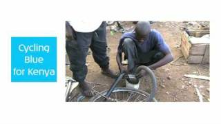 preview picture of video 'Cycling Blue for Kenya English'
