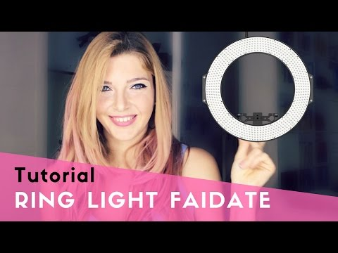 Tutorial Ring Light per meno di 20€ - illuminazione professionale per foto e video faidate