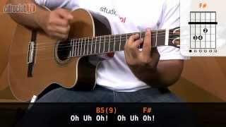 Flor - Jorge e Mateus (aula de violão simplificada)
