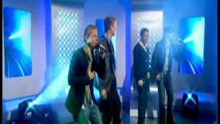 Backstreet Boys on This Morning November 25th 2009 - Bigger performance