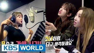 Director Minzy & Somi, and newbie rapper Hong Jinyoung [Sister's SlamDunk 2 / 2017.05.12]