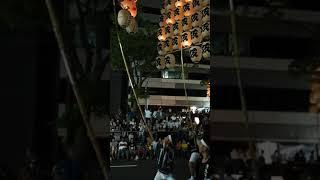 2017秋田竿燈まつり竿燈祭茨島三菱マテリアル3