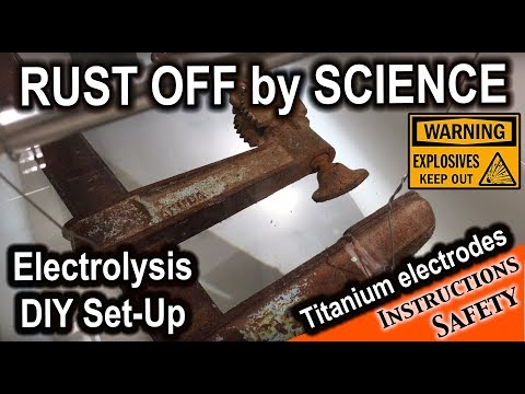 True rust removal by a chemist - boosting the performance of