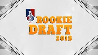 1st Round Pick | PBA Rookie Draft 2018