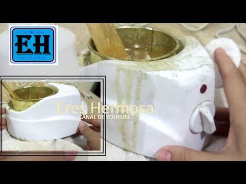 Como Limpiar tu Maquinita de Cera(miel) para Depilar.| Eres Hermosa