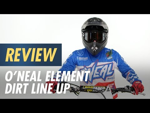 O'Neal Element Dirt Line Up Review at CycleGear.com